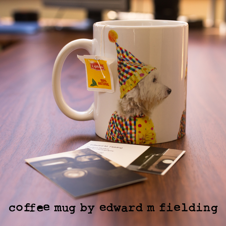 Coffee mugs by Edward M. Fielding