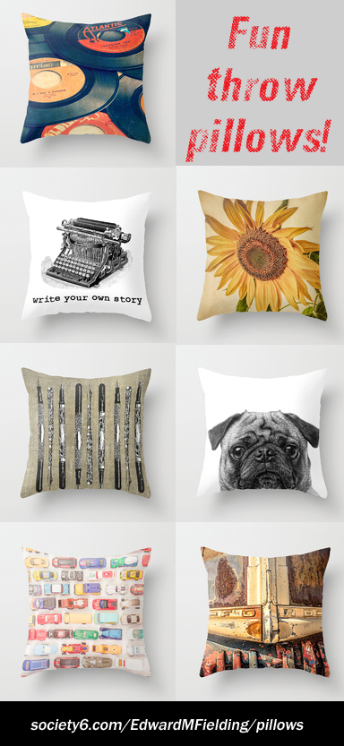 Fun Throw Pillows